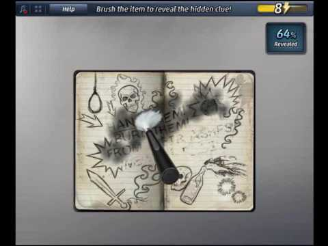 Criminal Case Pacific Bay Case 14 Examine Faded Notebook