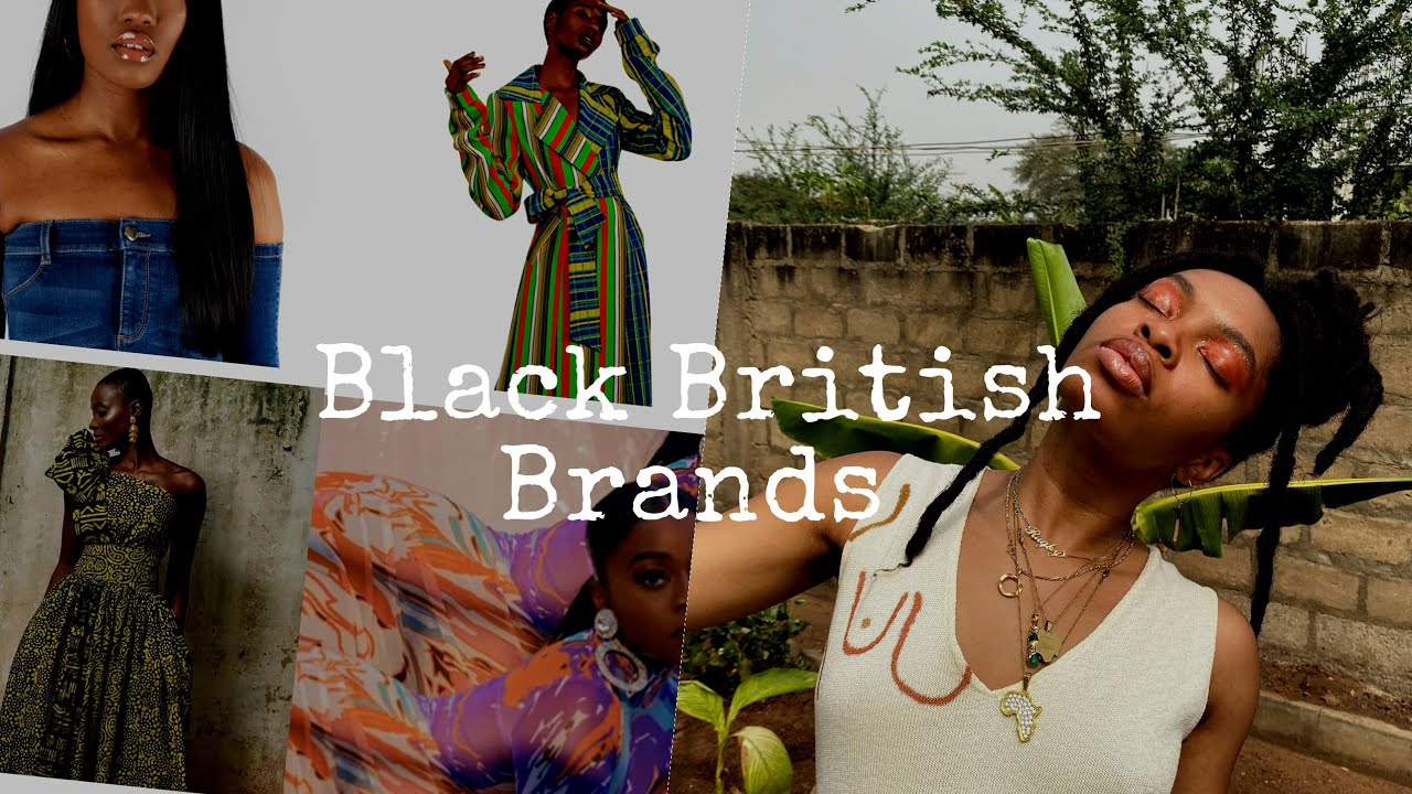 Black British Fashion + Lifestyle Brands to Buy From #buyblackseries #blackownedbusiness