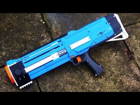 3D Printed Homemade Nerf Gun Version 3 | Magazine Fed