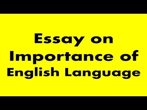 Theme For English B Essay  How To Write An Essay For High School Students also How To Write An Application Essay For High School Essay On Importance Of English Language  Youtube Computer Science Essays