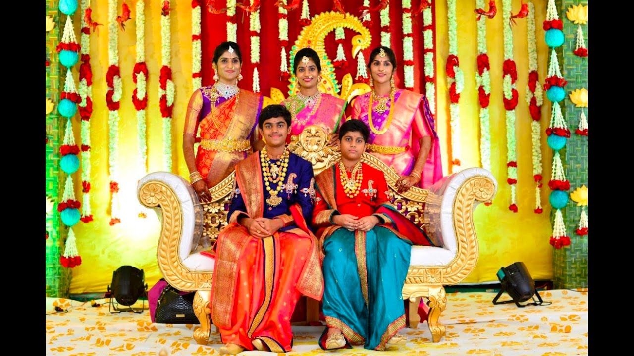 sahith and srikar u0026 39 s dhothi function