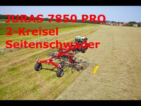 JURAS 7850 / 7850 PRO - Seitenschwader