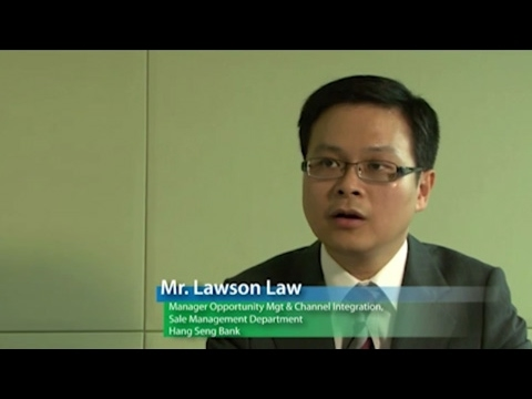 Mr Lawson Law, Head of Business Analytics, Hang Seng Bank