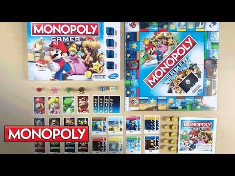 'Monopoly Gamer: Unboxing' - Hasbro Gaming