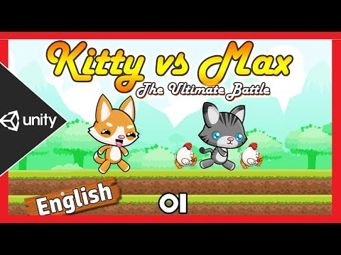 Unity 2D Platformer Game Tutorial in English - [Getting Started 01 ] thumbnail