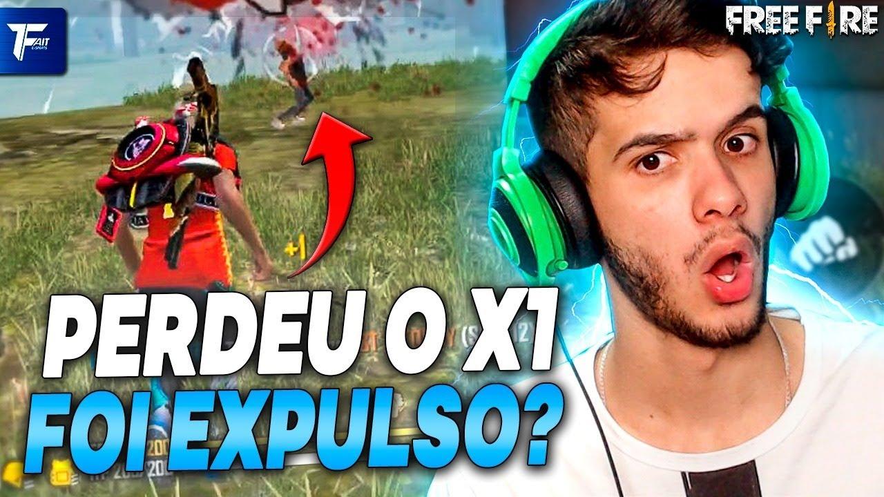 ELE PERDEU O X1 DE FREE FIRE E FOI EXPULSO DA FAIT!