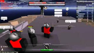 Royal Dominators And Allies Roblox Joint Task Force Beat RAS!