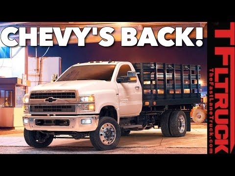 Everything You Ever Wanted to Know About The 2019 Chevy Silverado Medium Duty