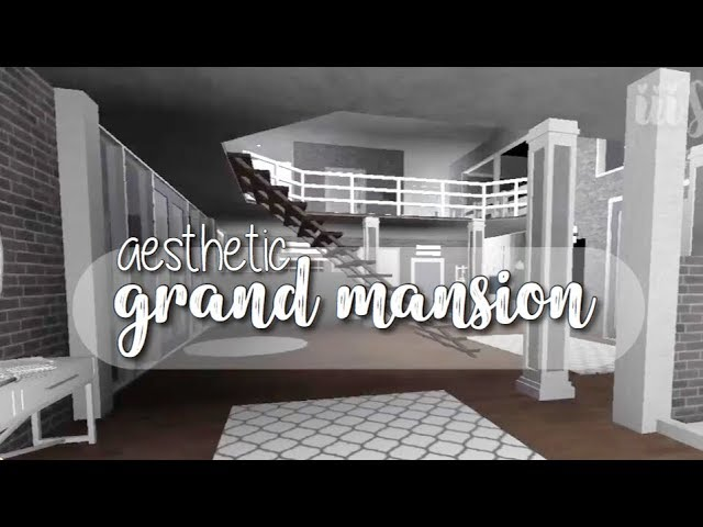 Bloxburg: Aesthetic Grand Mansion
