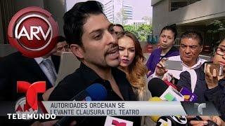 levantan clausura de la obra amor eterno en mxico   al rojo vivo   telemundo
