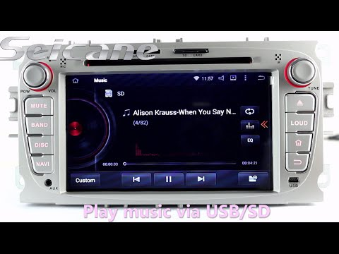 7 inch hd 2010 ford transit connect aftermarket radio cd. Black Bedroom Furniture Sets. Home Design Ideas