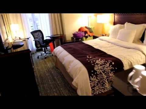 Marriott Brussels Room Tour