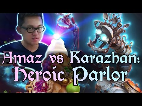 [Hearthstone] AMAZ VS KARAZHAN: The Parlor (Wing 1, Heroic)