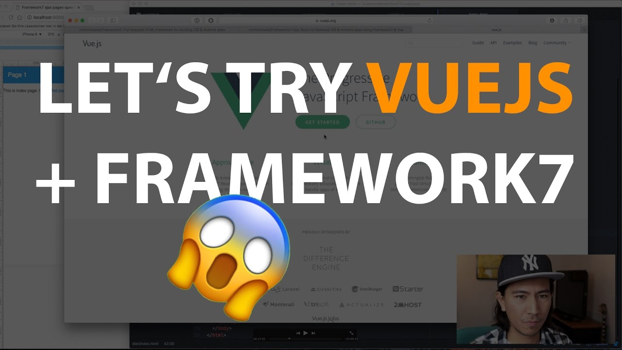 Let's try VueJS with Framework7!