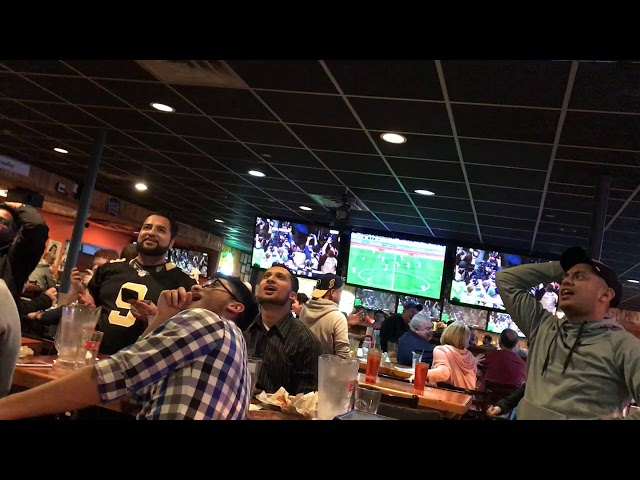 *EXTRA CONTENT* HOOTERS REACTION - STEFON DIGGS INSANE 61 YARD TOUCHDOWN AS VIKINGS BEAT SAINTS