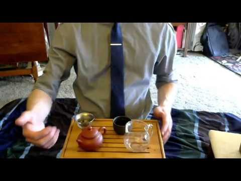 ASMR Just Plain Gong Fu Tea - Tibetan bowl Intro/Outro (no speaking)