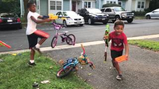 Nerf Wars with Hilal and Neo 2017 Video