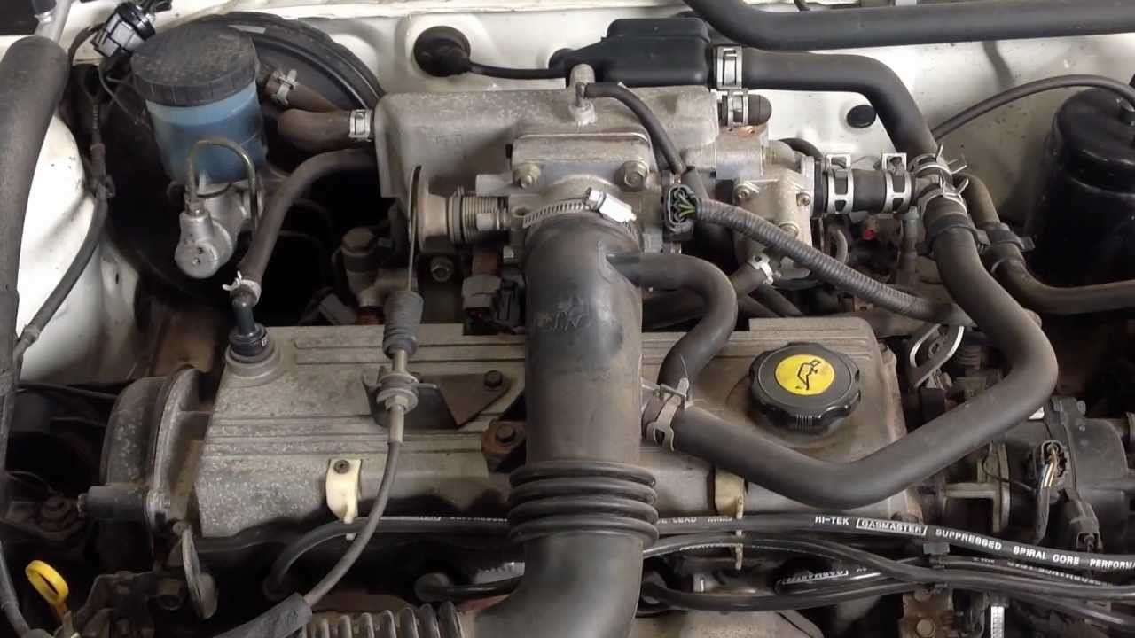 Ford Festiva WB 13L Engine  YouTube