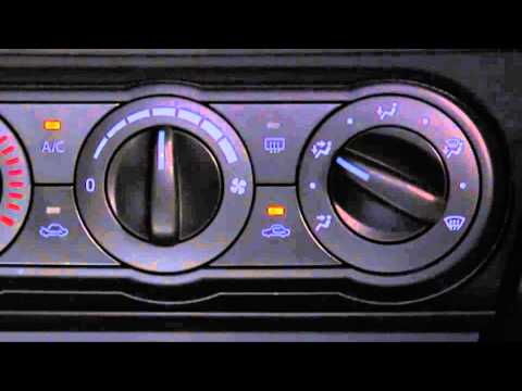 How to use the manual climate control AC in the 2015 Mazda3