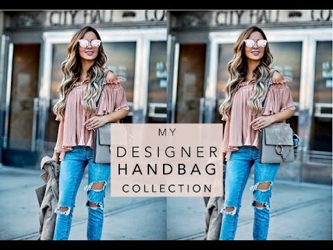 691e3518a5ce MY DESIGNER HANDBAG COLLECTION | Mia Mia Mine - YouTube