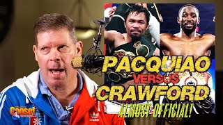 Pacquiao vs Crawford Almost Official!