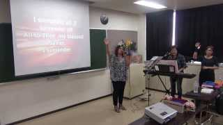 I SURRENDER ALL - JCOB JAPAN (ADACHI-KU OUTREACH) PRAISE AND WORSHIP 2013