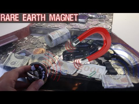 Using A Rare Earth Magnet On A High Risk Coin Pusher! Will It Work?