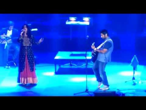 Arijit Singh with his soulful performance on the stage of 6th Royal Stag Mirchi Music Awards