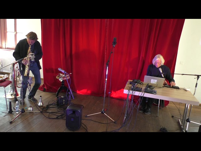 Udo Schindler und Jaap Blonk in Herrsching - Improvisation 6