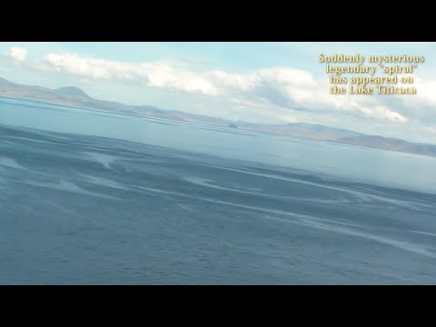 UFO & Isla del Sol of the Lake Titicaca in Bolivia