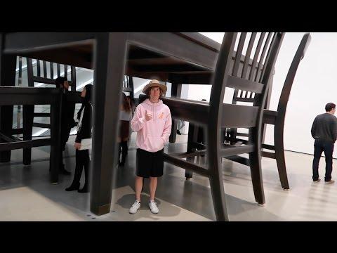 Sneaking Into Billionaire's Art Museum!
