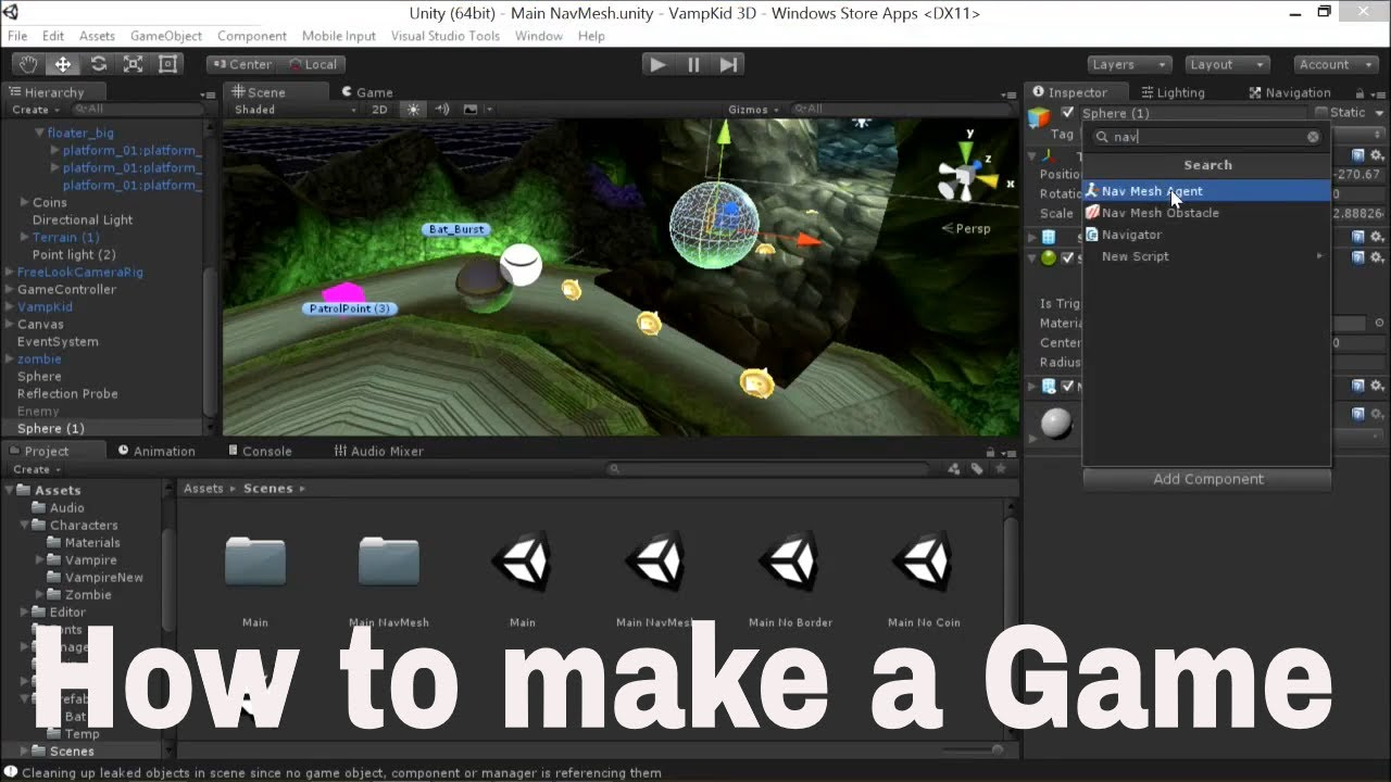 How to Make a Game in Unity | Unity Game Engine
