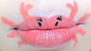 Crab Lips | Lip Art Tutorial