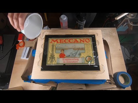 I Made a Vintage Meccano Gift Box Using Magnets, Knolling and Epoxy Resin