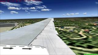 Fs2004-mongolian airlines b767-300 - from Ulaanbaatar to Tokyo flight