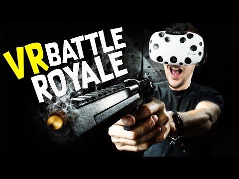 PUBG in Virtual Reality! - STAND OUT : VR Battle Royale Gameplay - VR HTC Vive