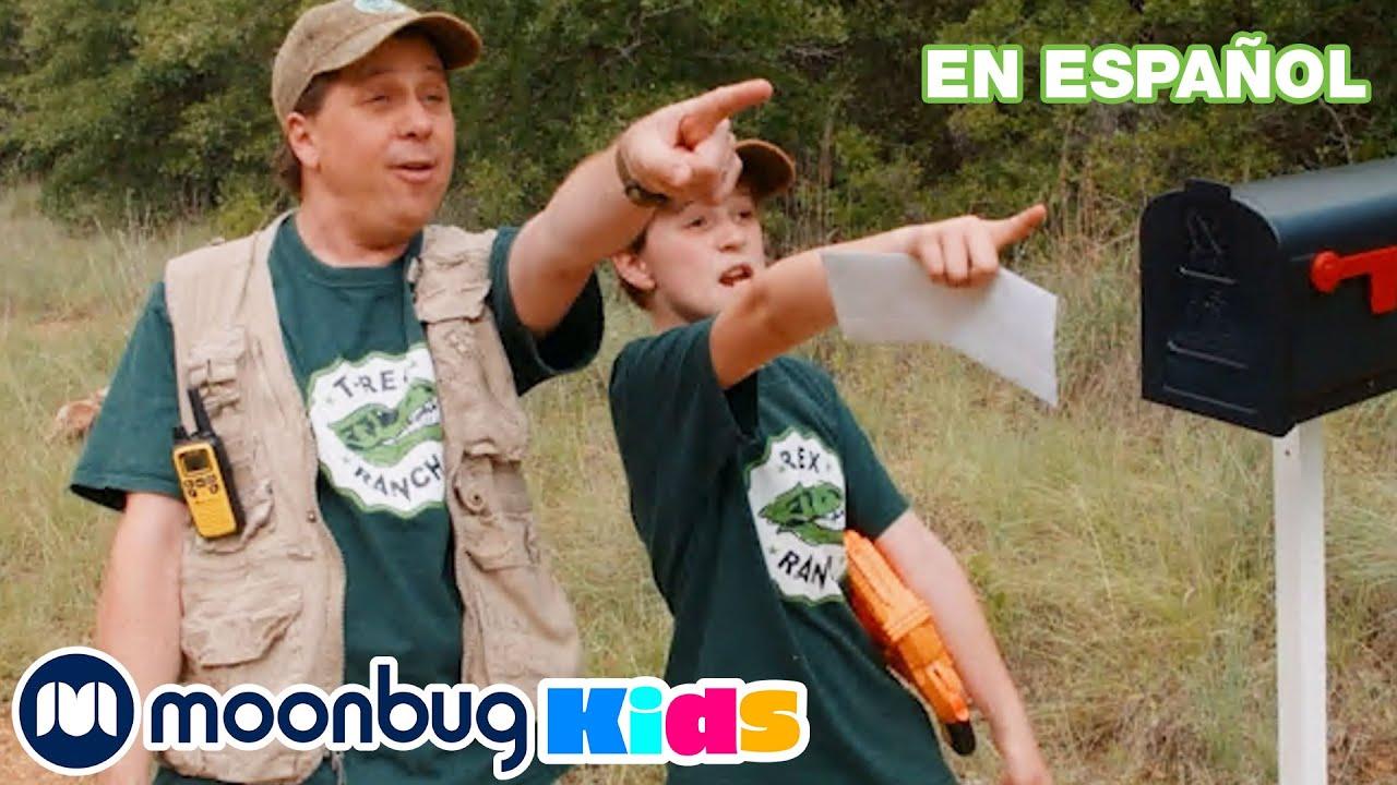 Dinosaurios y despedida al Despicable G | Dinosarios Videos | Moonbug Kids Parque de Juegos