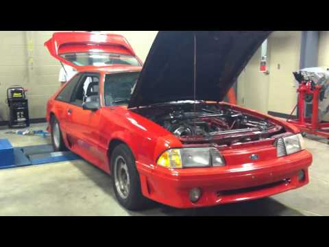 88 mustang gt 67mm single turbo