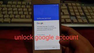 ปลดล็อค Gmail samsung galaxy j2 prime โคตรง่าย!!