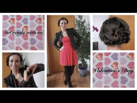 ♡ Get ready with me: Valentine´s Day ♡