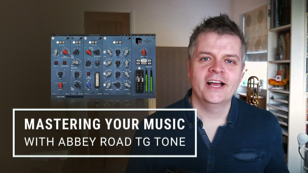 Mastering Your Music With Abbey Road Tg Tone Waves
