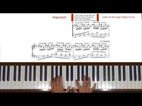 Yanni In the Mirror Piano Tutorial