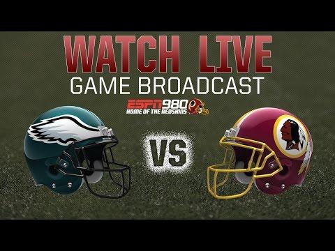 Redskins Radio Booth LIVE vs Eagles