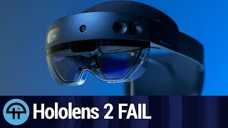 Microsoft Build 2019 Vision Keynote Hololens FAIL