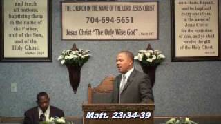 Apostle Mathis: Righteous blood is upon many