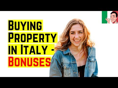 How to Buy a Property in Italy – Bonuses to Help You Buy Property ❤️ from YouTube · Duration:  4 minutes 15 seconds