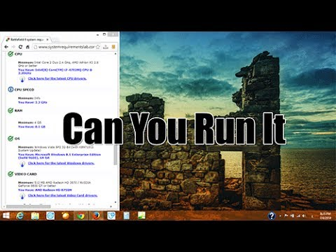 موقع لمعرفة امكانية تشغيل الالعاب على جهازك Can You Run It