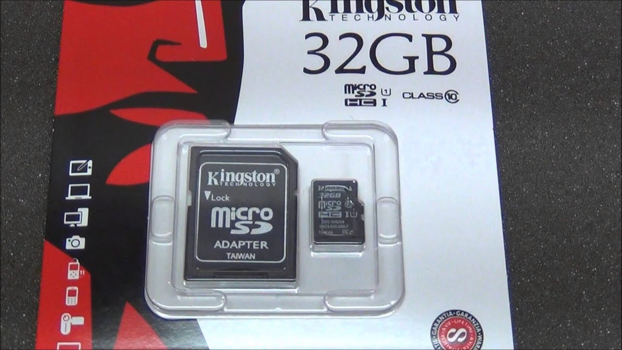 Super3cshopping.com - Kingston 32GB Class 10 Micro SDHC ...