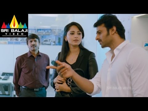 Mirchi Movie Love Scene Between Anushka & Prabhas | Prabhas, Anushka, Richa | Sri Balaji Video
