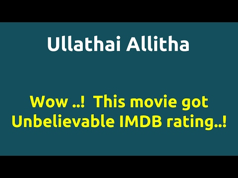 Ullathai Allitha |1996 movie |IMDB Rating |Review | Complete report | Story | Cast
